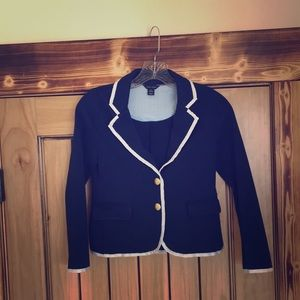 A girls youth suit coat.